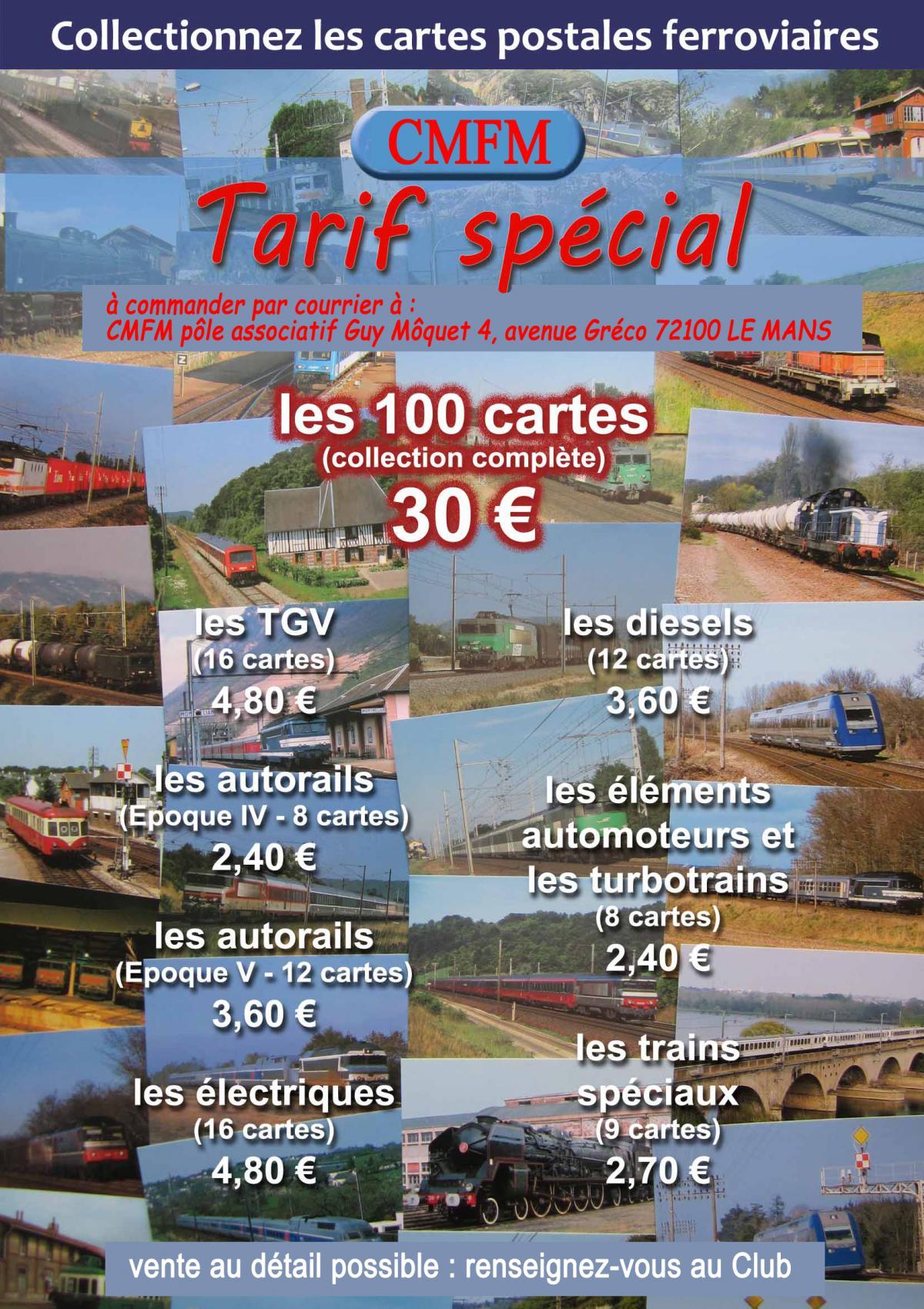 Cartes postales CMFM<br>