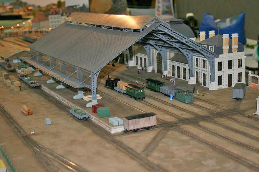 3 - Gare centrale des Tramways à vapeur du Mans