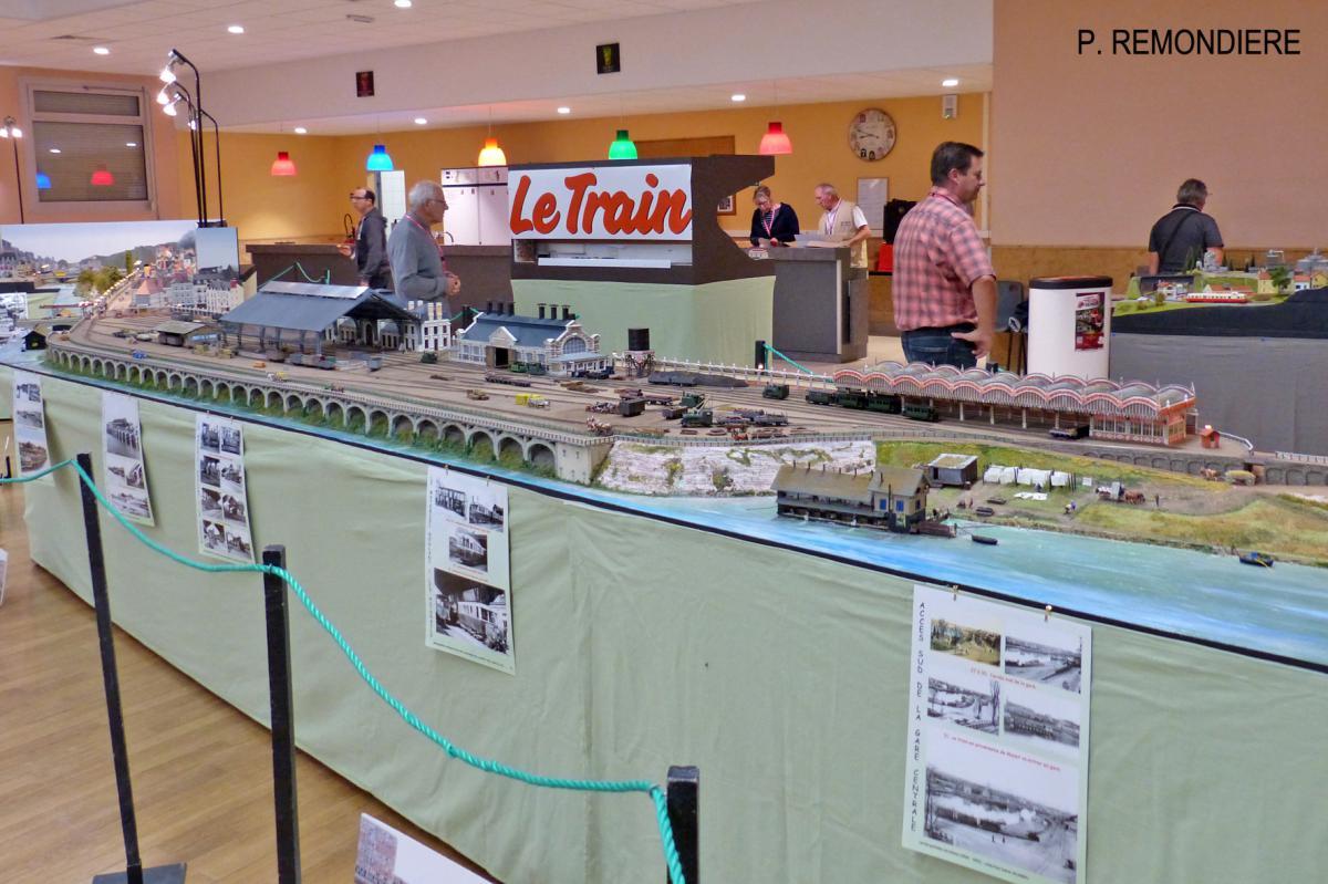 Stand CMFM - Gare centrale des tramways à vapeur du Mans