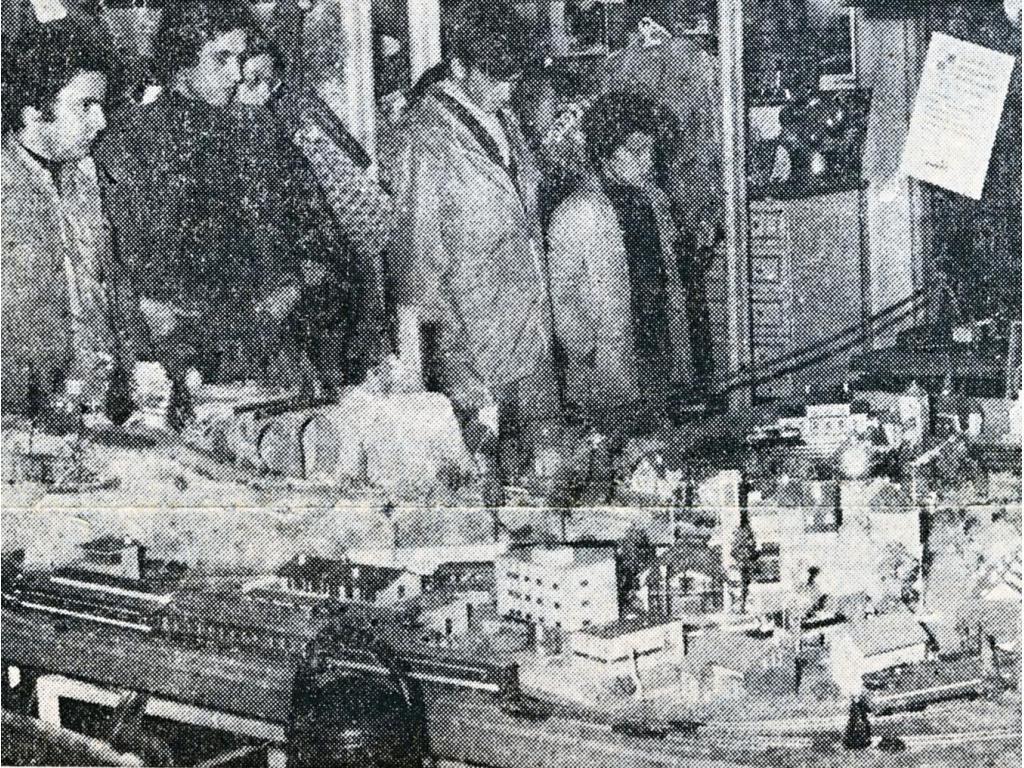 1975 - Première expo Polyshop Le Mans<br>