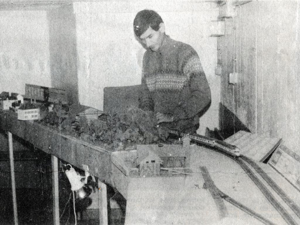 1986 - Patrick FRADET au local des Sources